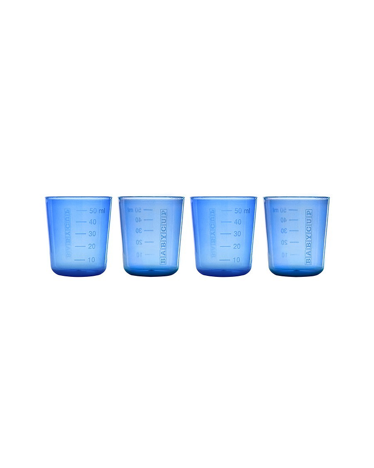 Babycup Mini Vaso Abierto Azul 50 ml