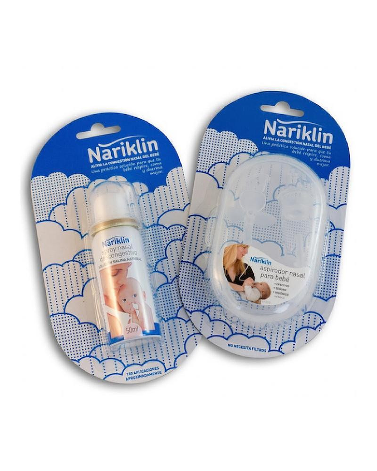 Nariklin Pack Aspirador + Spray Nasal