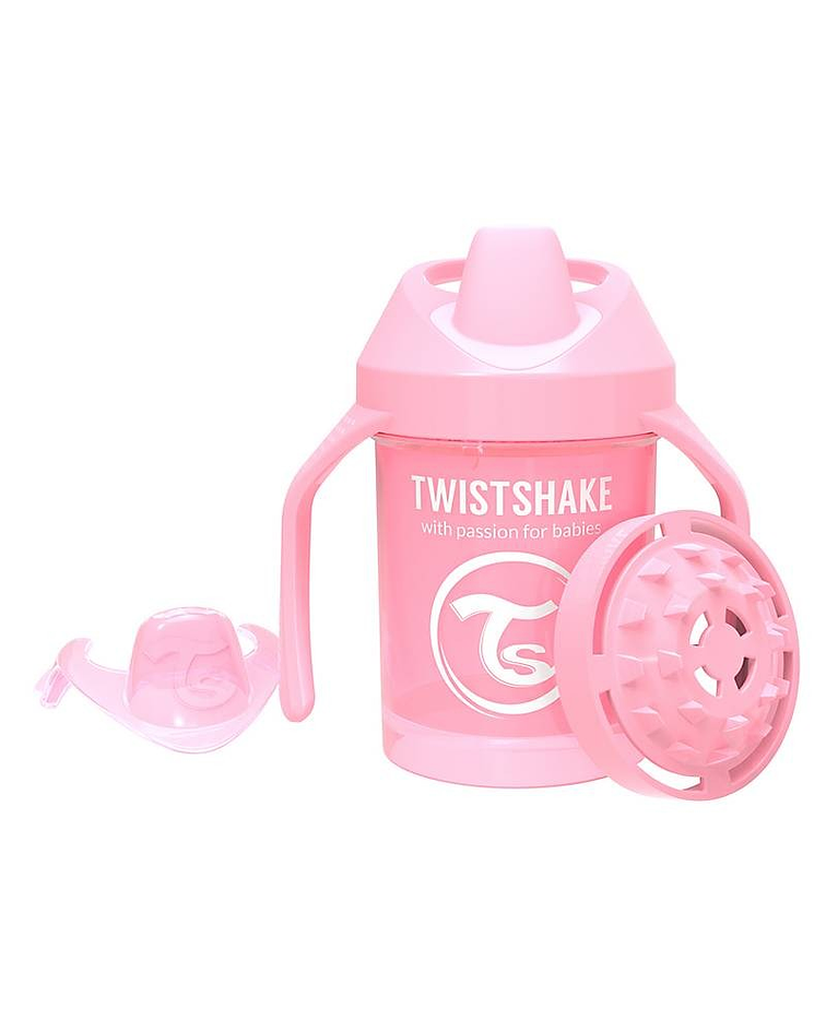 Twistshake Vaso Mini Cup Rosado 230 ml