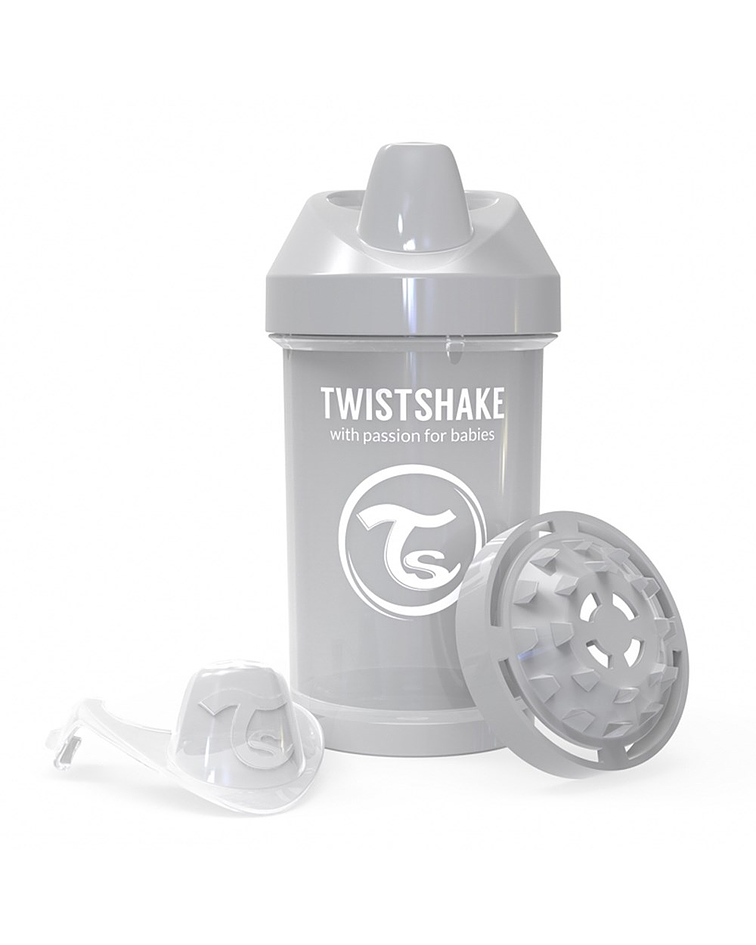 Twistshake Crawler Cup Vaso 300 ml Gris