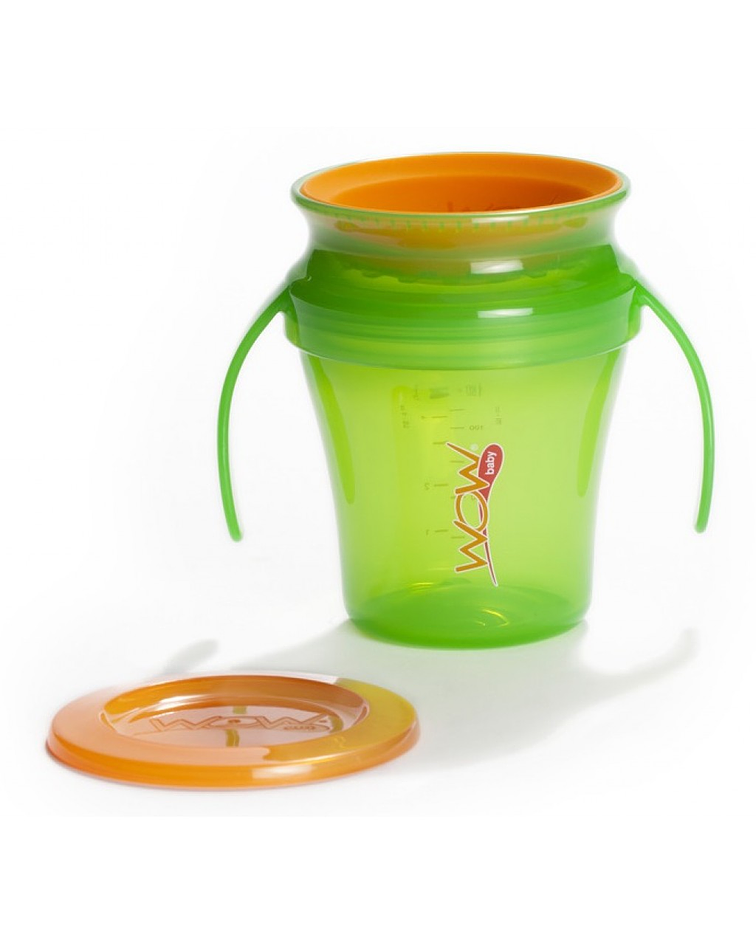 Wowcup Vaso Juicy Baby Verde 207 ml