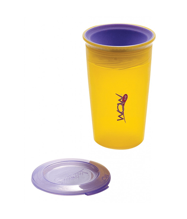 Wowcup Vaso Juicy Amarillo 266 ml