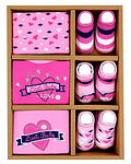Besthouse Set de Regalo RN Rosado 6/pcs