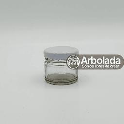 Envase Conservero 28ml tapa blanca