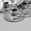 Set de ojalillo (20 unidades) de metal para velas