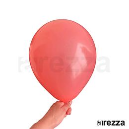 """Globo Rojo Pastel 10"""""""