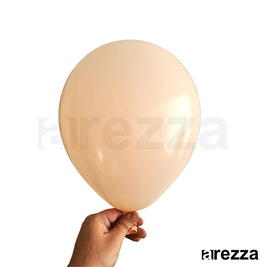 Globo Durazno Pastel 10