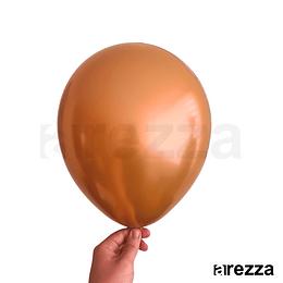"""Globo Cobre Cromado 12"""""""