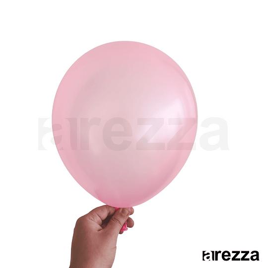 Globo Rosa Metalizado 12