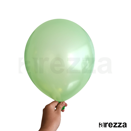 Globo Verde Metalizado 12