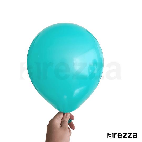 Globo Turquesa Liso 10