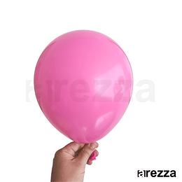 """Globo Fucsia Liso 10"""""""