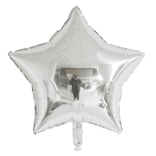 Estrella Foil Plata 18