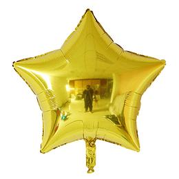 """Estrella Foil Dorado 18"""""""