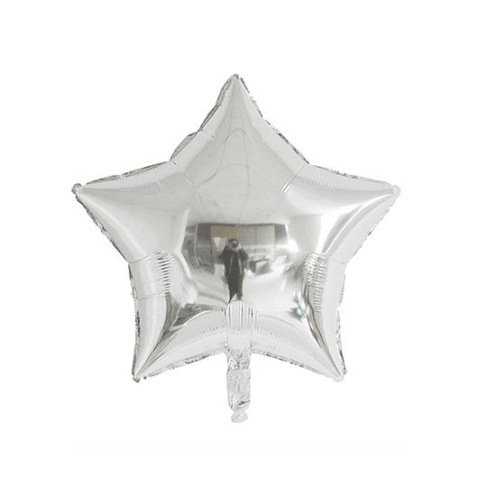Estrella Foil Plata 10