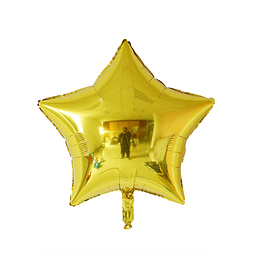 """Estrella Foil Dorado 10"""""""