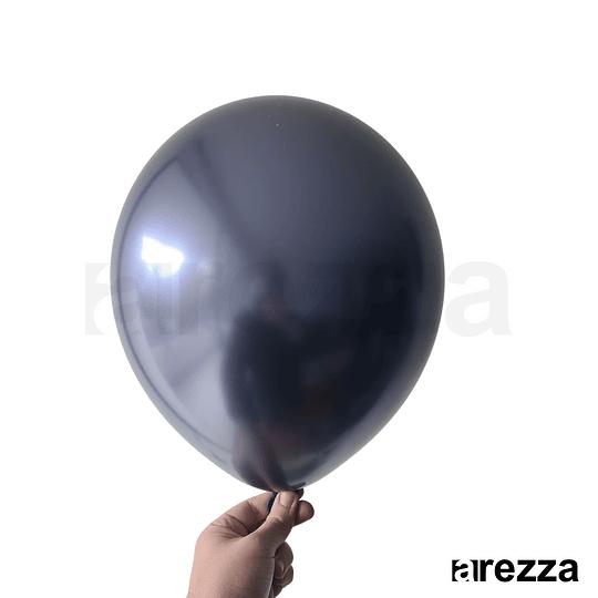 Globo Azul Dark Cromado 12