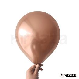 """Globo Rose Gold Cromado 12"""""""