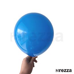 """Globo Azul Liso 10"""""""