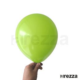 "Globo Verde Lima Liso 10"""