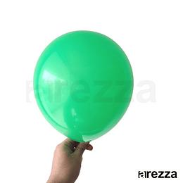 """Globo Verde Liso 10"""""""