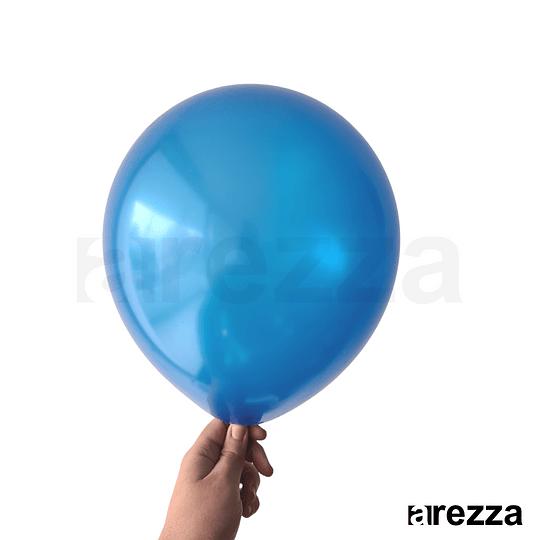 Globo Azul Rey Metalizado 12