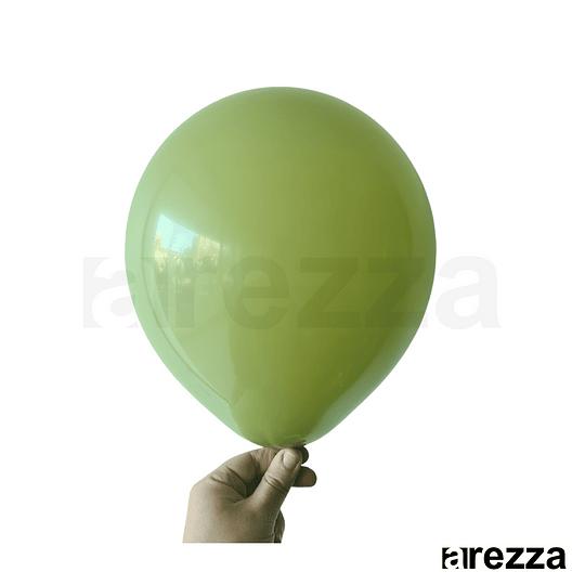 Globo Olivo Tierra 12