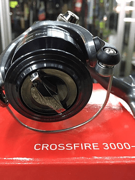 carrete daiwa crossfire  3000