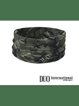 DUO UV HEADWEAR : Green Camo
