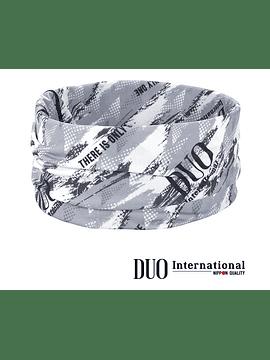 DUO UV HEADWEAR : Gray Geo