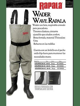 Wader Rapala  Wave Rubber 44/45
