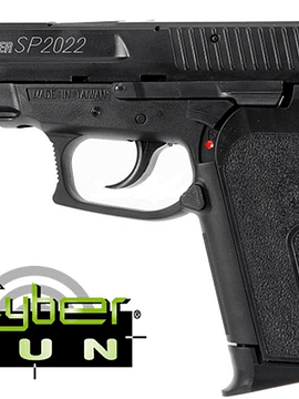 PISTOLA CYBER GUNS SIG SAUER SP 2022 CO2 (REPLICA)