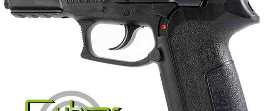 PISTOLA CYBER GUNS SIG SAUER SP 2022 CO2 (REPLICA)