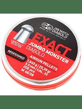 Poston JSB Exact Jumbo Monster Rediseñado cal 5.5 - 25,39gr - 200 unid