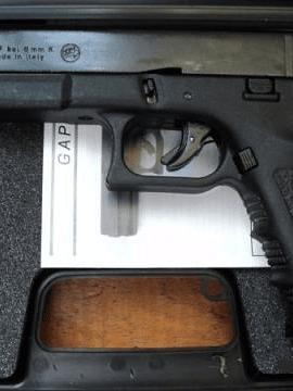 Pistola Bruni Mod. GAP CAL. 9 MM Fogueo.