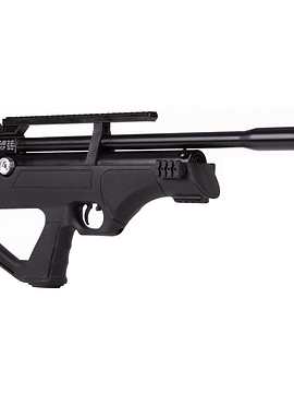 Rifle pcp Hatsan Flash up sintetico cal 5,5  con Bombin - mira 3-9x40AOE - funda