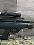 Rifle PCP Hatsan Flash Up + Bombin + mira 3-9x40 con láser - retículo + Postones