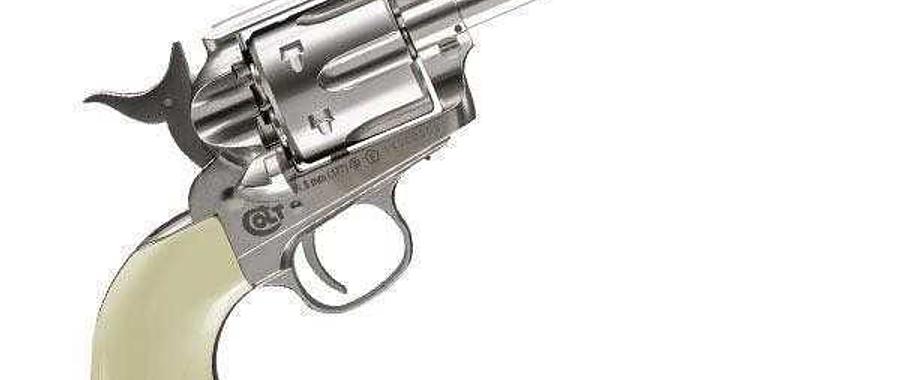 Revolver Umarex Colt SAA silver cal. 4.5bbs