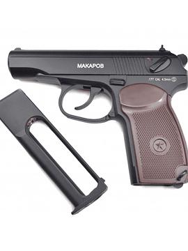 Pistola KWC makarov replica  CO2  Cal 4,5 bbs
