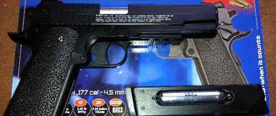 Pistola Sig sauer GSR CO2