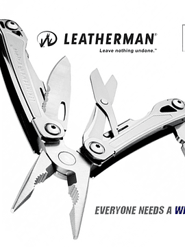 Leatherman Wingman con funda