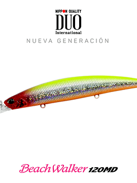 Señuelo DUO BeachWalker 120MD Sparkling Clown 20g