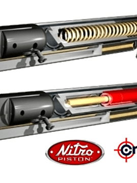 Rifle Crosman Fury  nitro piston cal. 4,5