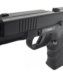 Pistola stinger g17 co2 cal. 4,5 blowback