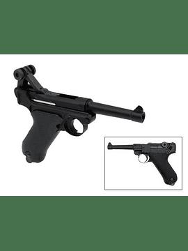 Pistola KWC P08 Blowback Co2 Full Metal