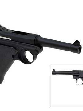 Pistola KWC P08 Blowback Co2 Full Metal