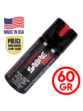 Gas Pimienta Sabre Red Spray 60gr