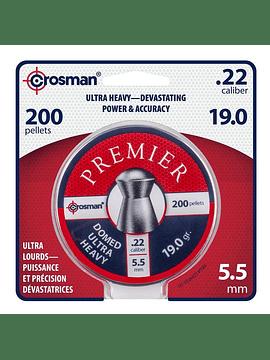 Poston CROSMAN Domed Ultra Heavy 5.5 19gr 200u.