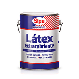 LATEX EXTRACUBRIENTE BLANCO GL SIPA