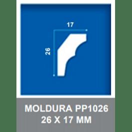 MOLDURA EPS PP1026 17X26MMX2MTS